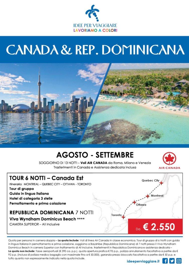 Canada – Repubblica Dominicana