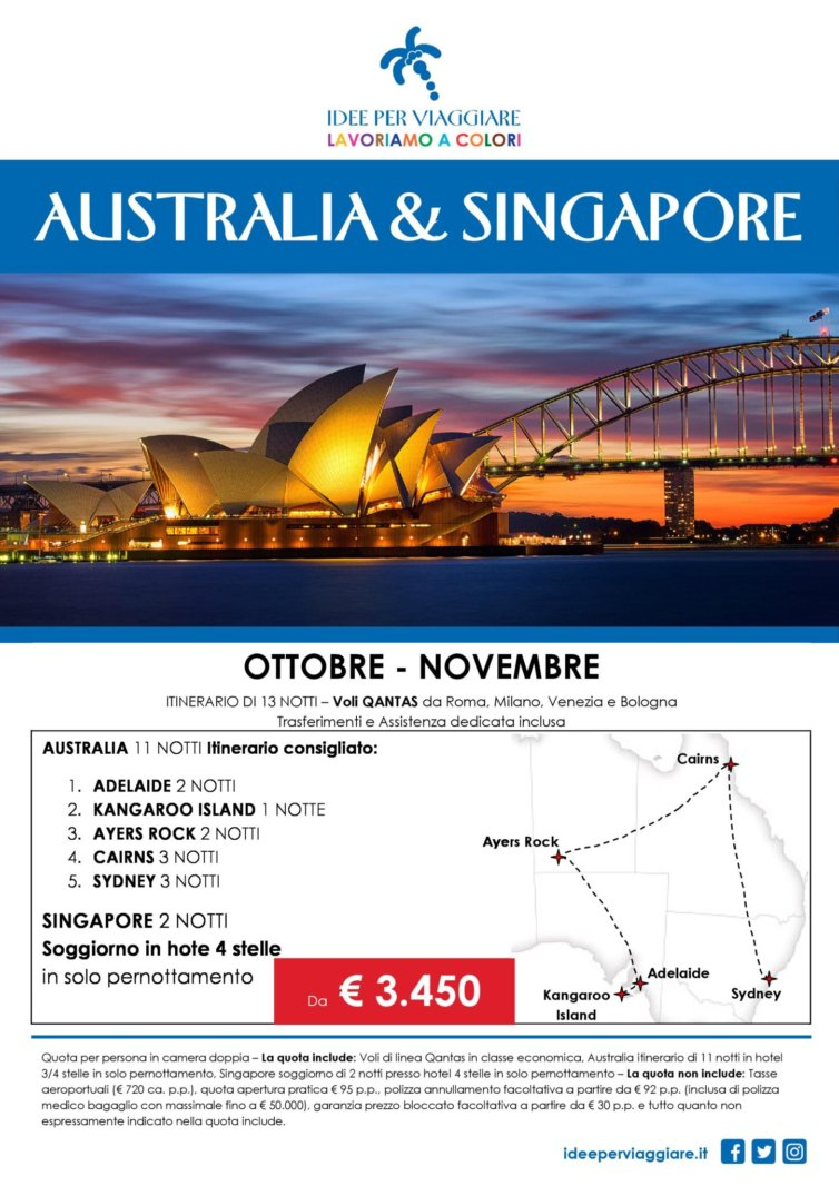 Australia e Singapore