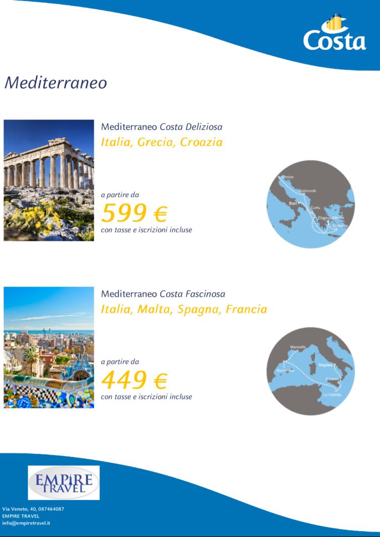 Crociere / Mediterraneo