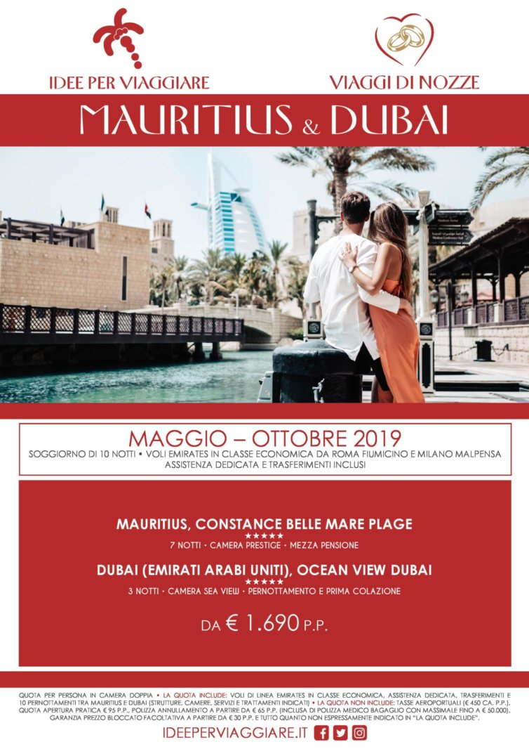 Mauritius e Dubai