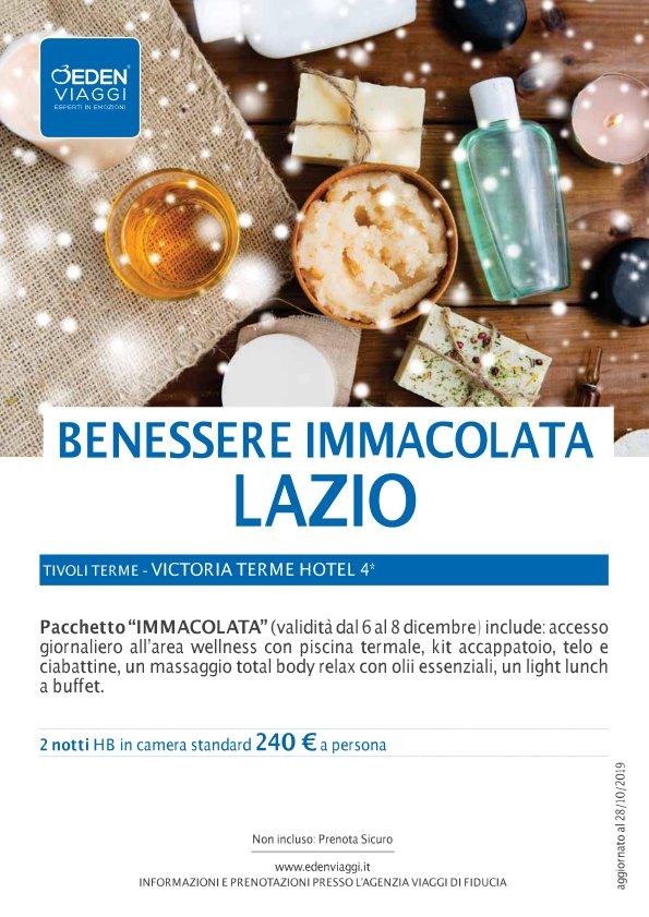 Lazio – Benessere Immacolata